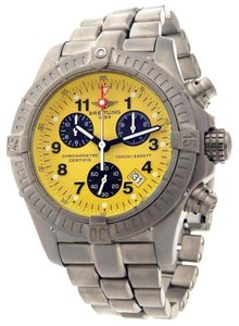 Breitling Breitling Chrono Avenger M1 Yellow Face Watch E73360