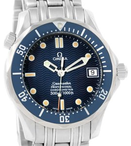 Omega Omega Seamaster James Bond 300M Midsize Blue Dial Watch 2551.80.00