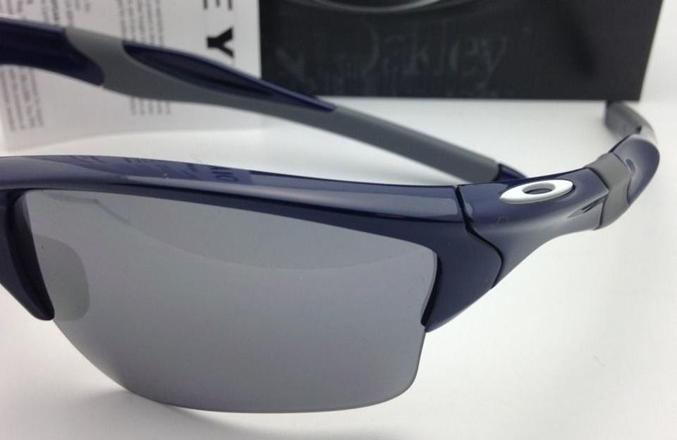 59c69c1ee7 Oakley Half Jacket 2.0 Xl Oo9154-24 Navy Blue W  Black Iridium Lenses W Black  Sunglasses - Tradesy