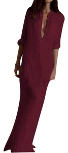 Wine Maxi Dress by