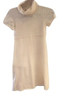 Theory short dress Cream on Tradesy