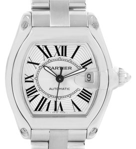 Cartier Cartier Roadster Mens Automatic Watch W62025V3 Box Papers