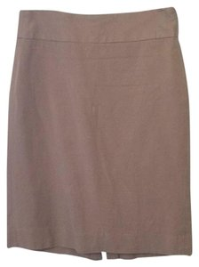 Banana Republic Pencil Fitted Skirt Brown