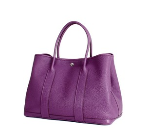 Hermès Garden Party 36 Garden Party Anemone Tote in Purple