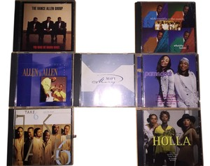 Gospel Groups 7- CD Set; The Rance Allen Group, Allen & Allen, Take 6, Kirk Franklin & The Family, Pam & Dodi, Trin-I-Tee 5:7, Mary Mary [ SisterSoul Closet ]