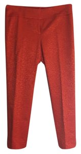 Ann Taylor LOFT Straight Pants Orange