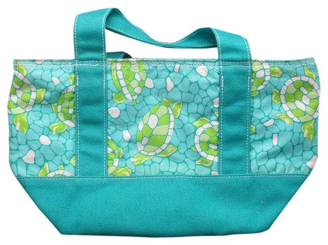 Item - Turtle Blue Green Cotton Tote