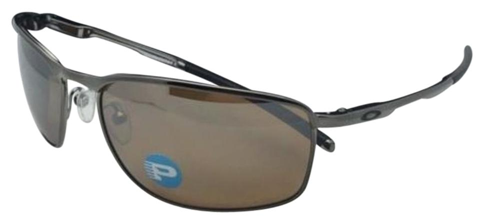 4953579093 Oakley Polarized OAKLEY Sunglasses CONDUCTOR 8 OO4107-03 Tungsten w   Iridium Image 0 ...