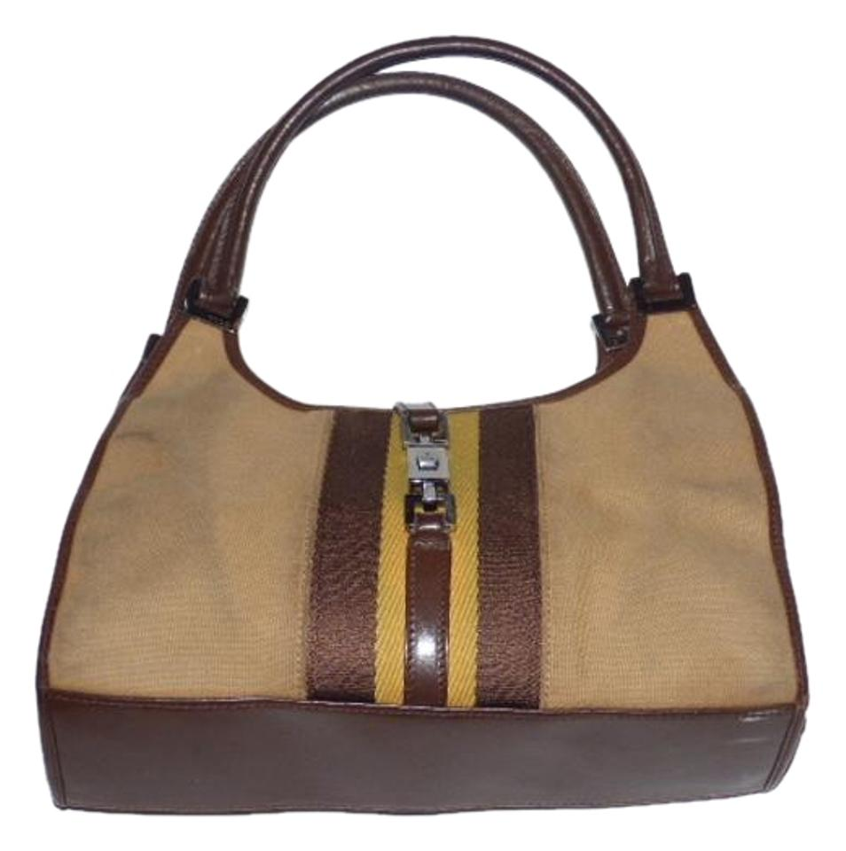 bb32ef054cb9 Gucci Jackie O Style Chrome Hardware 'bardot' Style Excellent Vintage Great  Everyday Hobo Bag ...