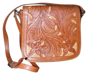 Other Handmade Tooled Shoulder Bag