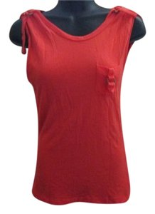 Energie Casual Summer Top Coral Orange