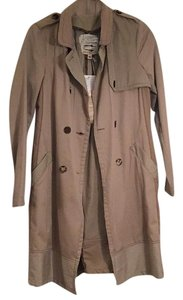 Burning Torch Trench Coat