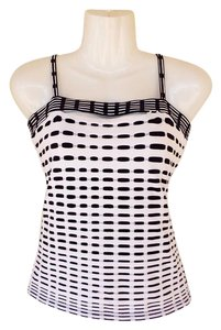 Rayure Paris Rayure Zipper France Black And White Top black, white