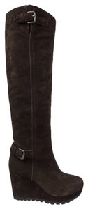 Prada Dark Brown Boots