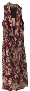MM Couture short dress Red Print Sleeveless on Tradesy