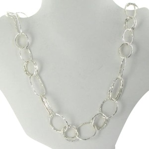 Ippolita Ippolita Necklace Glamazon Lacework Hammered Links 20 Sterling Silver