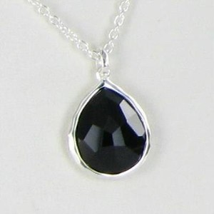 Ippolita Ippolita Necklace Rock Candy Teardrop Black Onyx Sterling Silver