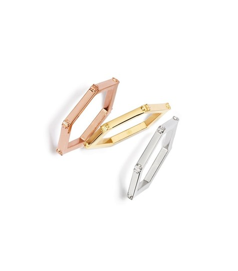 Preload https://item1.tradesy.com/images/tory-burch-gold-sliver-and-rose-gold-new-hex-logo-hinged-and-bracelet-19481045-0-4.jpg?width=440&height=440