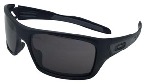 Oakley OAKLEY Sunglasses TURBINE OO9263-01 Matte Black w/ Warm Grey