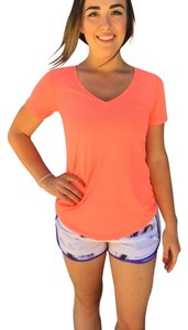 Lululemon Running Active Workout Yoga T Shirt Coral