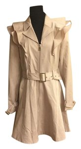 bebe Trench Nicola NUDE, POWDER, TAPIOCA Jacket