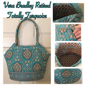 Vera Bradley Tote in Totally Turquoise