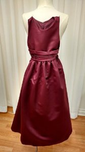 Chanti-like Bordeaux Al701 Sweet Beginnings Dress