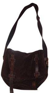 Leonello Sorghi Brown Messenger Bag