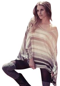 Michael Lauren Lauren Moshi Poncho Cape Off T Shirt