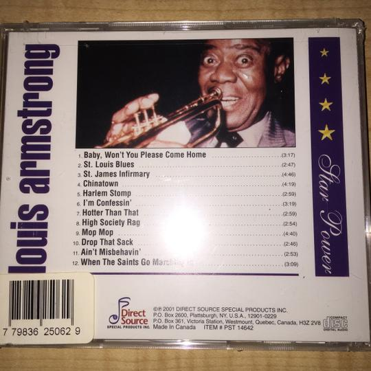 Other Historic Blues, Jazz & Rock N' Roll 6- CD Set; Louis Armstrong, Billie Holliday, Duke Ellington, Thelonious Monk, T-Bone Walker, Chuck Berry [ SisterSoul Closet ]