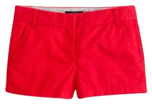 J.Crew Mini/Short Shorts Red