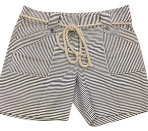 Tory Burch Bermuda Shorts Navy/white