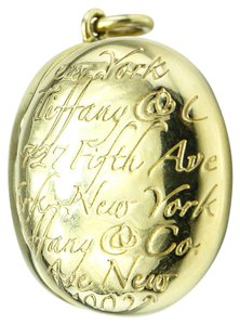 Tiffany & Co. * Tiffany & Co 14k Gold Egg Pendant Locket