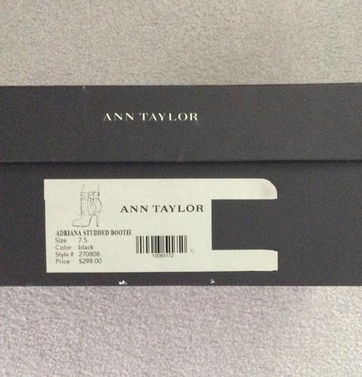 Ann Taylor Crystal Studded Black Boots Image 4