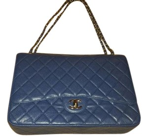 Chanel Jumbo Classic Double Flap Quilted Shoulder Bag