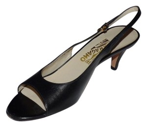 Salvatore Ferragamo Dressy Or Casual Excellent Condition Slingback Style Open Toe Style 3