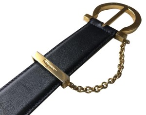 Salvatore Ferragamo Vintage Ferragamo belt with gold hardware