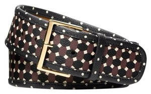 Tory Burch HABER PRINT BELT JAVA MULTI size xxs