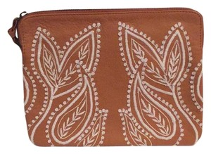 Anthropologie Tan Clutch