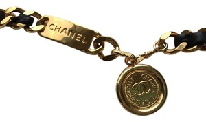 Chanel Chanel Chain Leather Belt