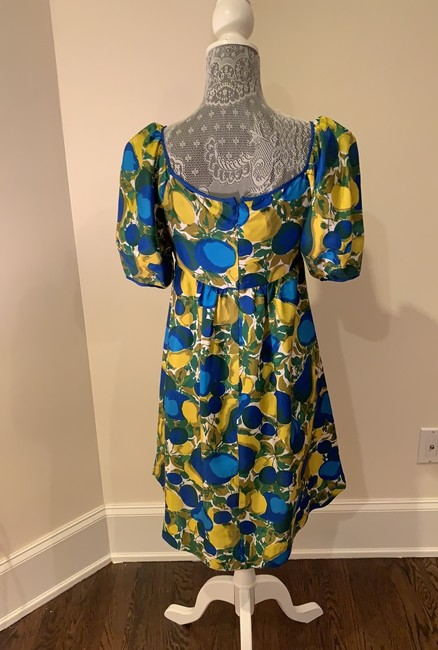 Rebecca Taylor short dress Blue And Yellow on Tradesy Image 1