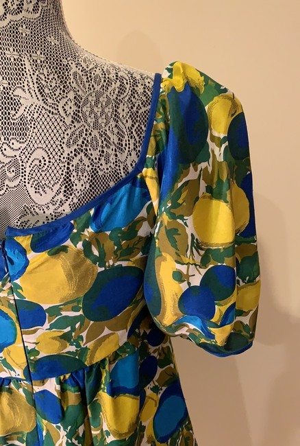 Rebecca Taylor short dress Blue And Yellow on Tradesy Image 5