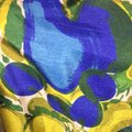 Rebecca Taylor short dress Blue And Yellow on Tradesy Image 6