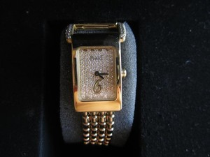 Piaget Piaget lady's gold bracelet watch with 142 diamonds - A vintage