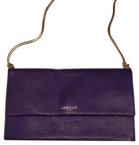 Lanvin Blue Clutch