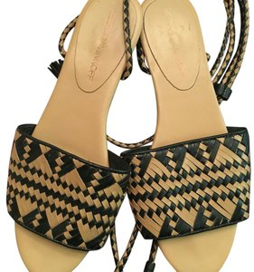 Rebecca Minkoff Black and tan Sandals