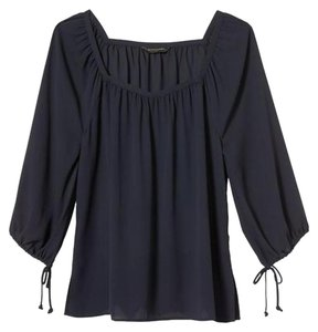 Banana Republic Sale Top Navy Blue
