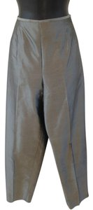 Talbots Trouser Pants Gray metallic