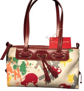 Dooney & Bourke Tote in Off White And Multi