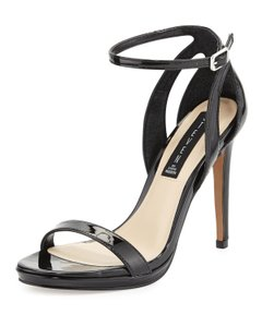 Steven by Steve Madden Black Patent Sandals